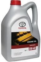 TOYOTA Motor Oil SAE 5W40 SL (5л) масло моторное