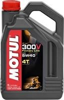 300V 4T Off Road 5W-40 100% Synthetic, Ester 4L