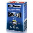 Hi-Gear 5W-40 SN/CF FULL SYNTHETIC MOTOR OIL (4л) Масло моторное синтетическое