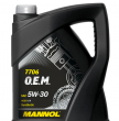 MANNOL 7706 O.E.M. for Renault Nissan SAE 5W-30 (5л.) Синт.моторное масло ACEA C4; Renault RN 0720
