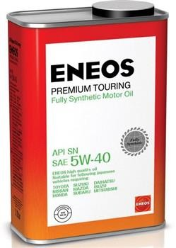 ENEOS Premium TOURING SN 5W-40 1л Масло моторное Синтетическое