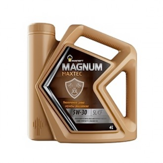 Rosneft Magnum Maxtec 5W-30 4л. Масло моторное